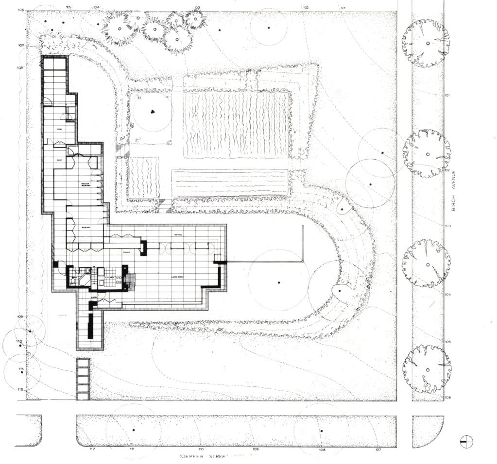 Landscape Plan - Jacobs 1 House / 441 Toepfer Ave., Madison, WI ...