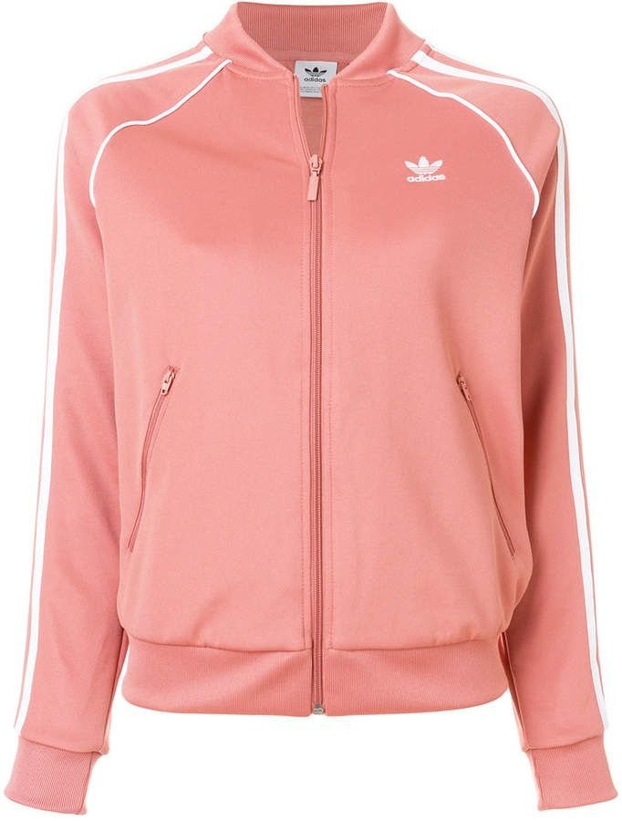 Adidas Originals SST Track Jacket, Pink & Purple | Adidas