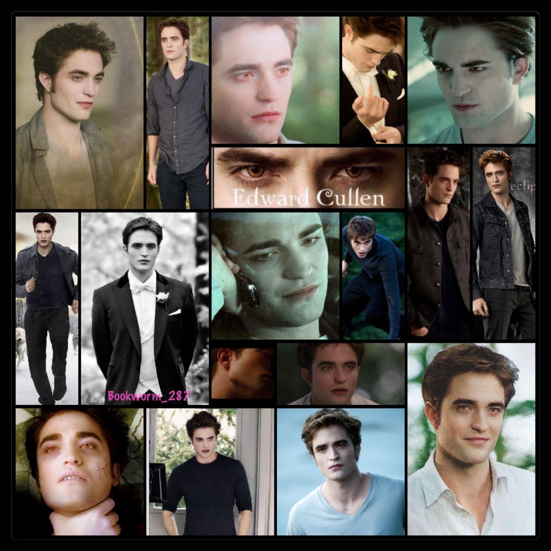 Edward Cullen Collage Twilight Fans Twilight New Moon Edward Cullen
