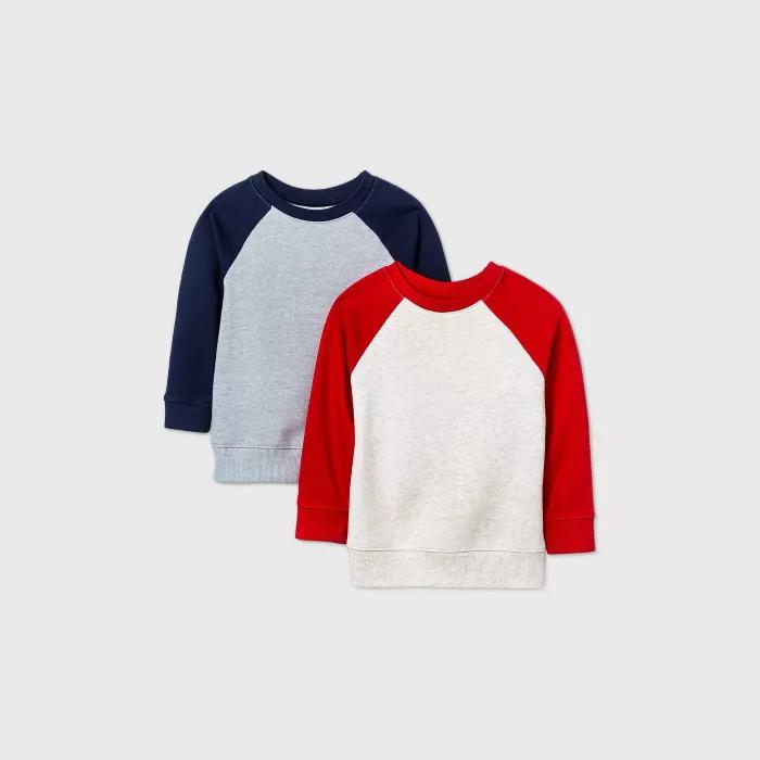 CuteOn Baby Boys Girls Crewneck Cotton Long Sleeve Winter Fleeced-Lined Sweatershirt