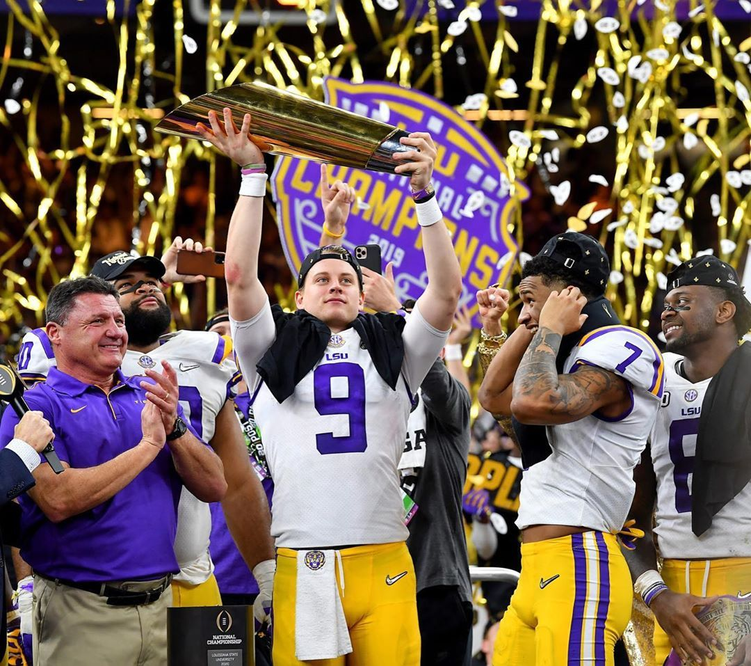 21 3k Likes 1 024 Comments Joe Burrow Joe Burrow10 On Instagram Lots Of Setbacks Disappointments A In 2020 Lsu Tigers Football Lsu Football Lsu Tigers Shirts