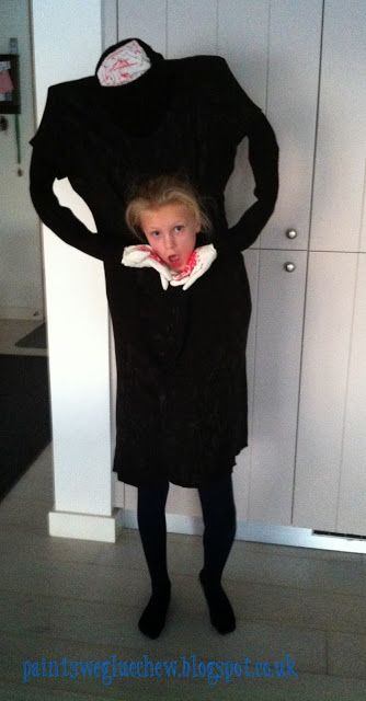 PaintSewGlueChew DIY Headless halloween costume diy  sc 1 st  Pinterest & PaintSewGlueChew: DIY Headless halloween costume diy | S E A S O N S ...