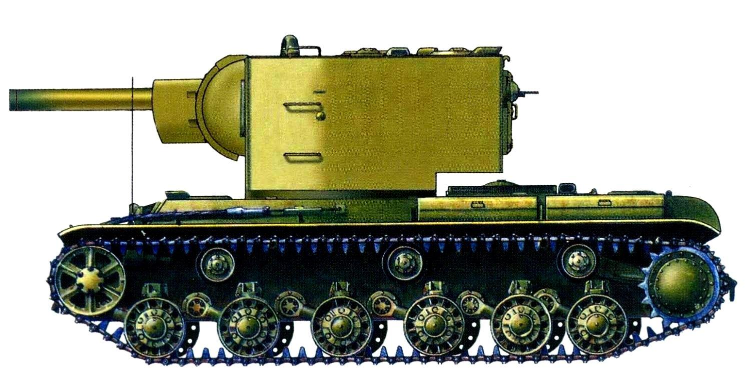 Кв танк с боку картинка