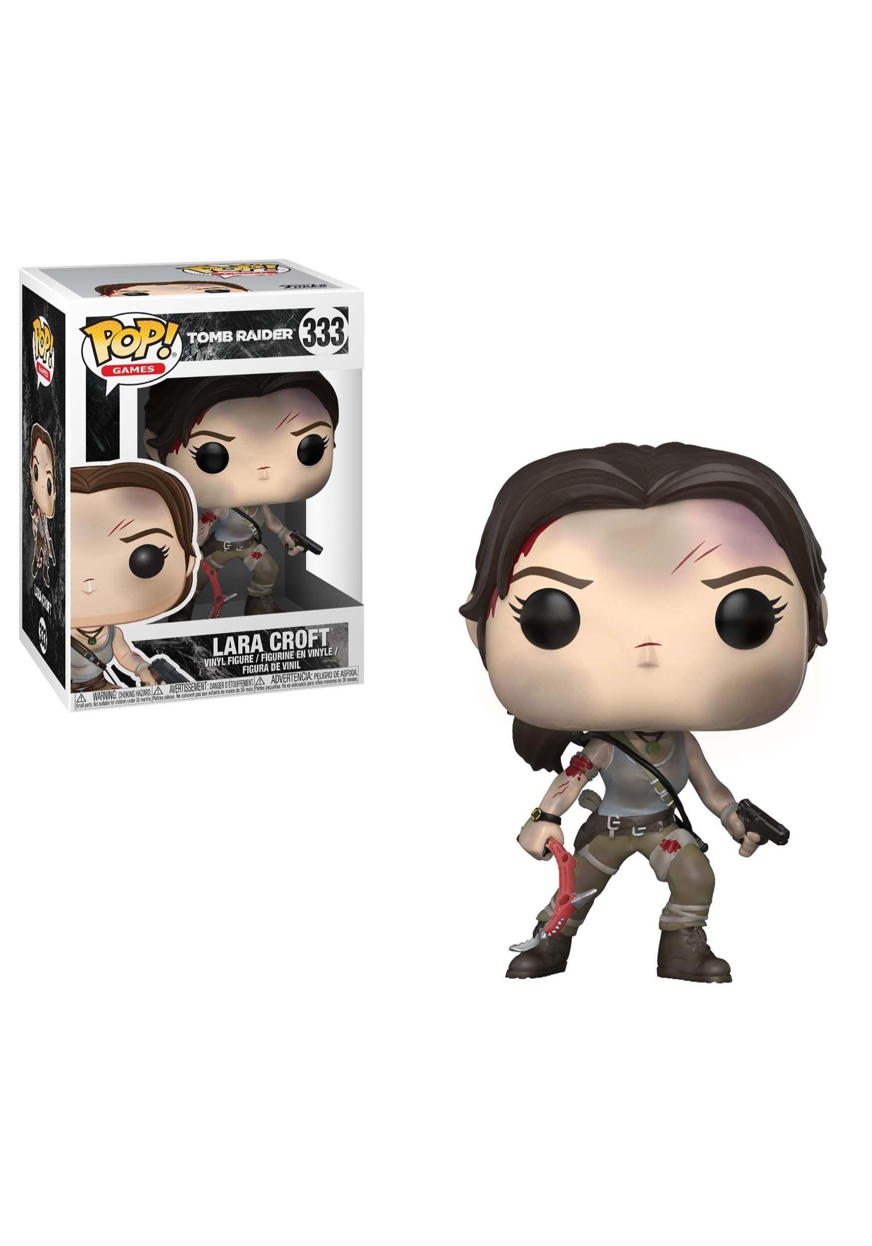 Pop Games Tomb Raider Lara Croft Vinyl Figure In 2020 Tomb Raider Tomb Raider Lara Croft Vinyl Figures