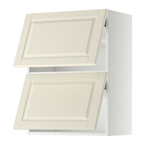 METOD Wandschrank horiz m 2 Türen, weiß, Häggeby weiß Küche