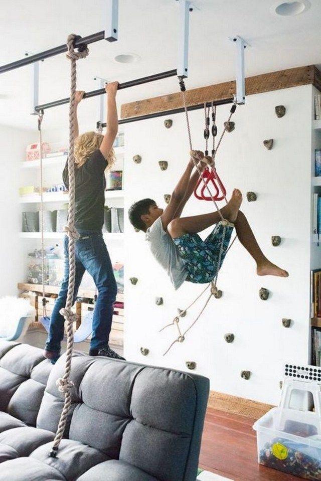 Photo of 24 Indoor-Kletterwand für ein Schlafzimmer im Freien