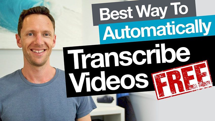 Use This Method to Automatically Transcribe Your Videos for Free | 4K Shooters