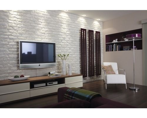 verblender klimex milano wei brick wall decor. Black Bedroom Furniture Sets. Home Design Ideas