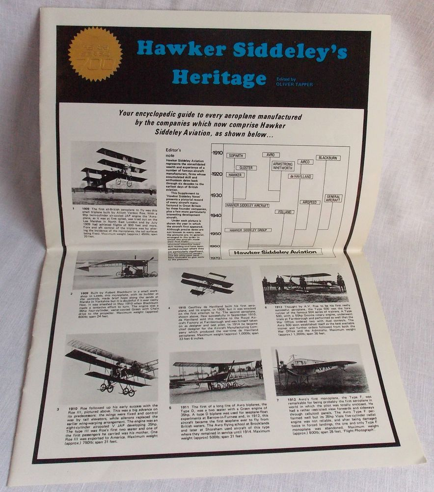 1950 toys images   Hawker Siddeleyus Heritage Pictorial Guide to Airplanes