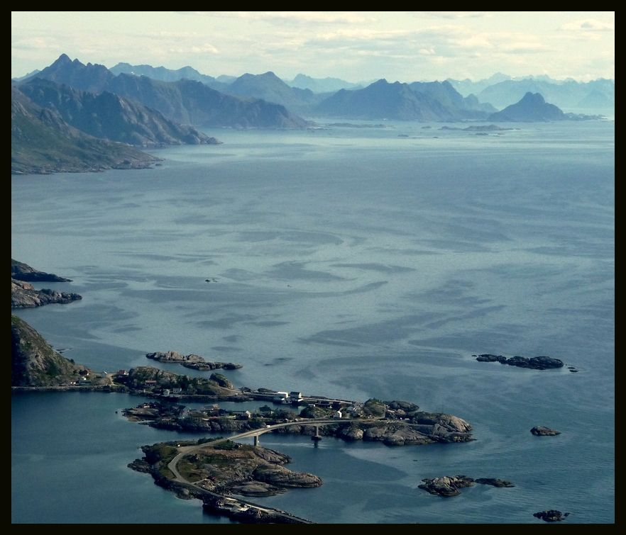 Lofoten, Norway. Hamnoya. Spent a night right down there...
