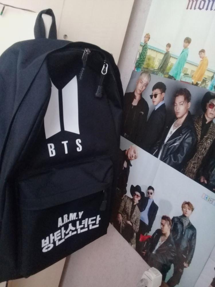 Famous Kpop BTS Logo Backpack bts bag