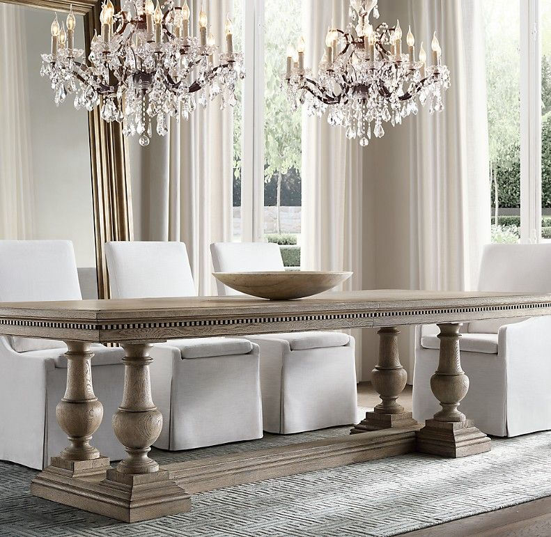 Pin By Ruth On Dining Room Restoration Hardware Dining Room Extension Dining Table Dining Table