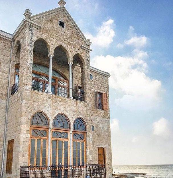 بيوت ومنازل تراثية في مدينة صور جنوب لبنان Tyre South Lebanon Old Houses Interior And Exterior Exterior