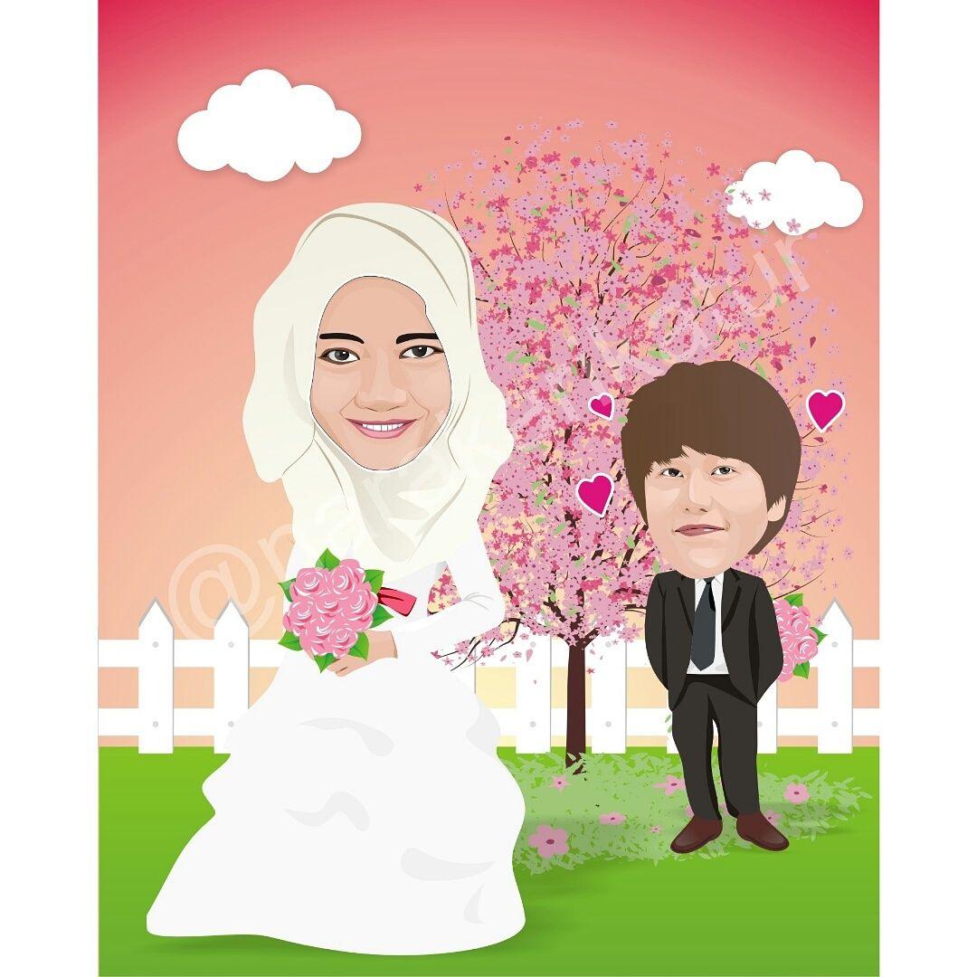 Menerima Jasa Pembuatan Karikatur Untuk Wedding Bikin Moment