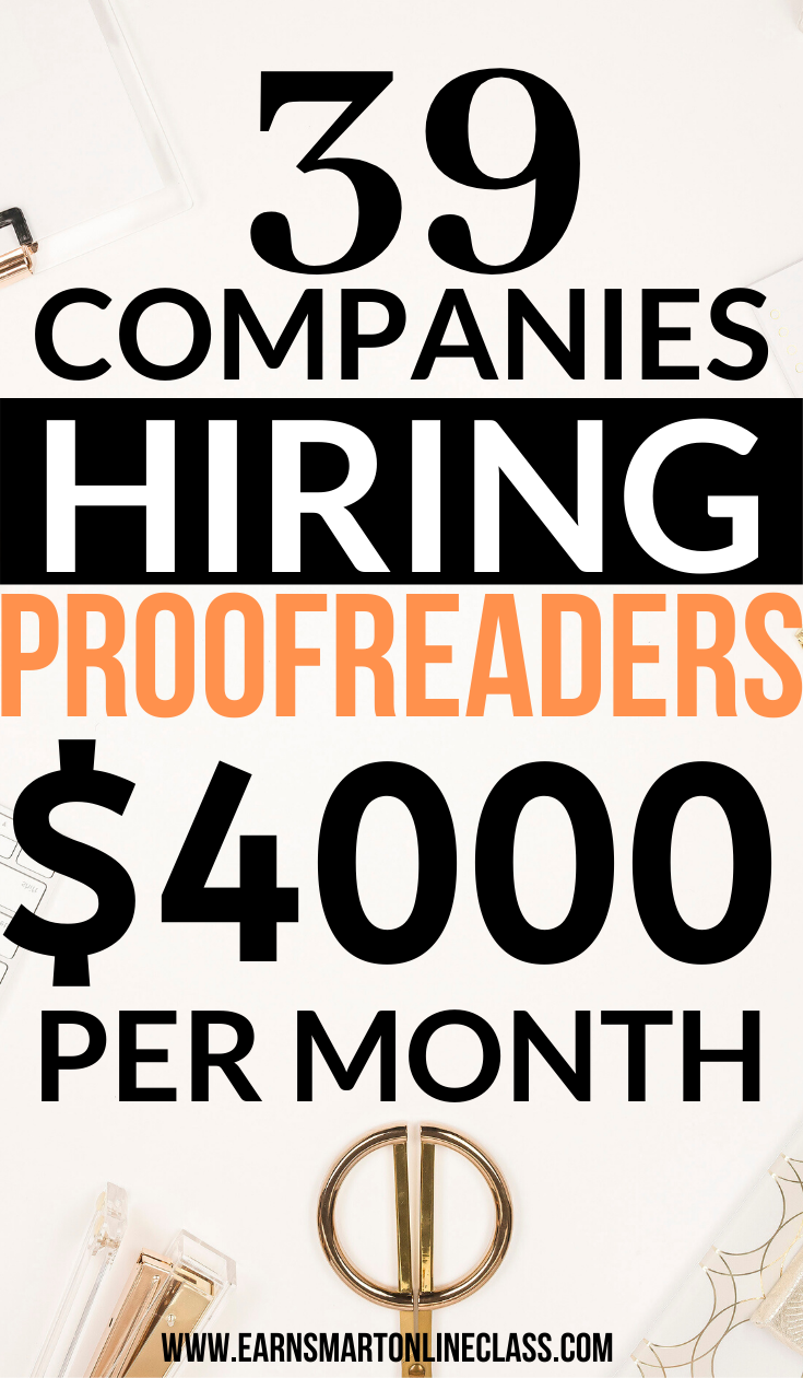 31 Online Proofreading Jobs for Beginners
