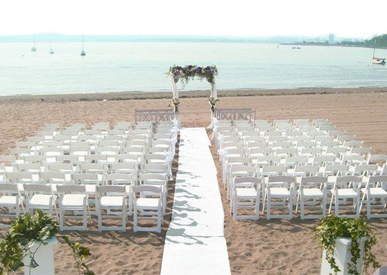 Anthony's Ocean View - Connecticut Beach Wedding Ceremony