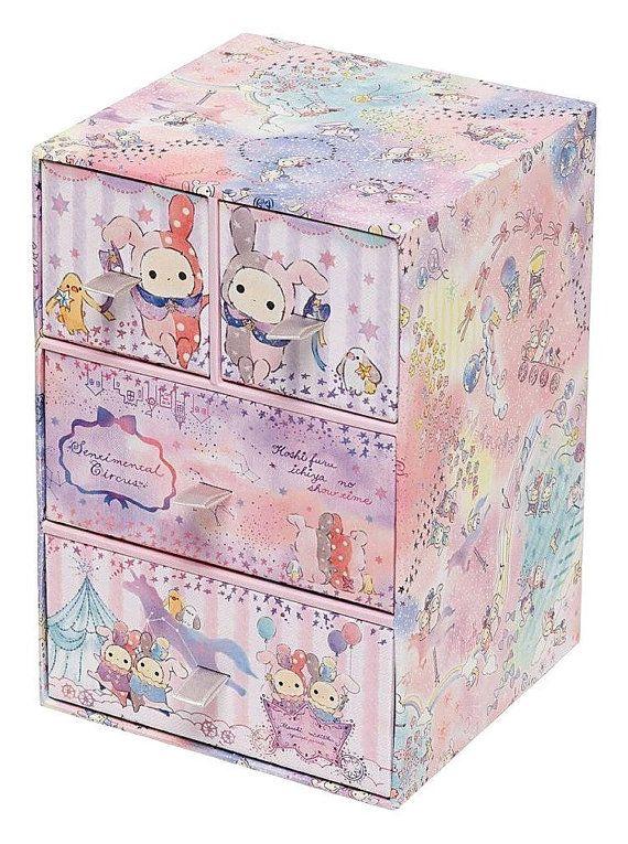 Craft Storage Sentimental Circus by San-X Desk by JapanPop