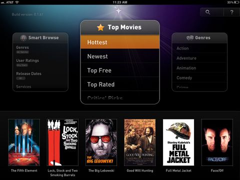 fanhattan gives listings for movies and tv shows from