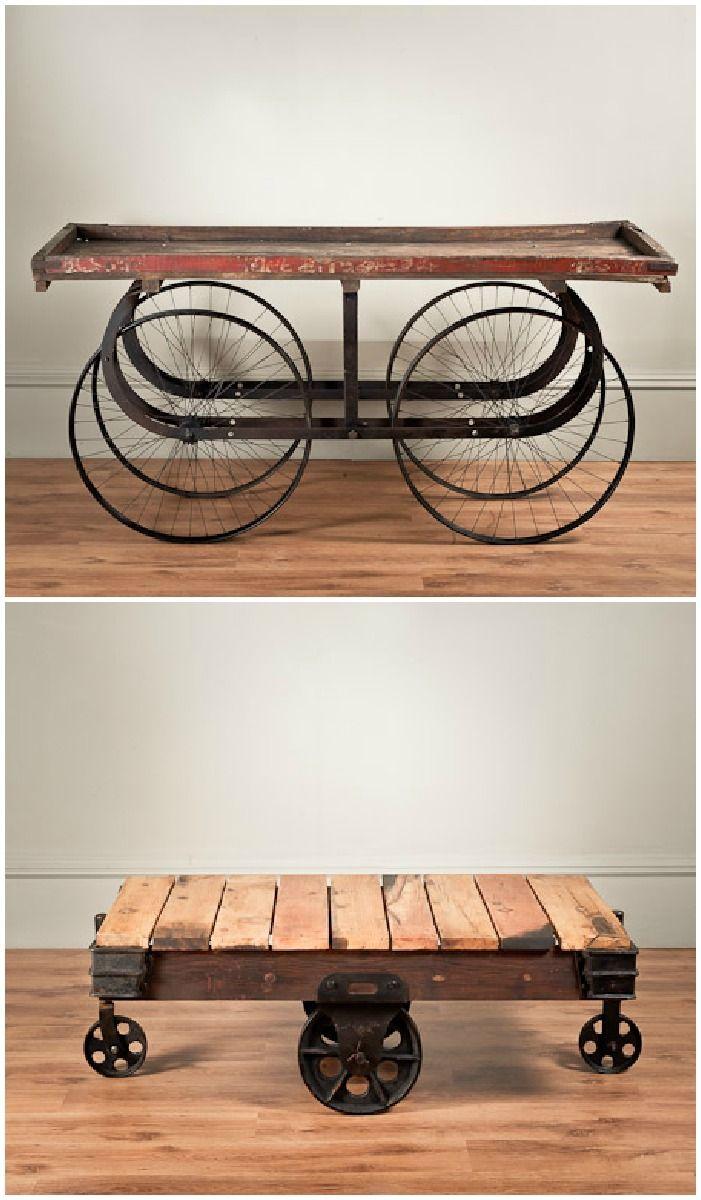 Uniche Industrial Furniture #vintageindustrialfurniture