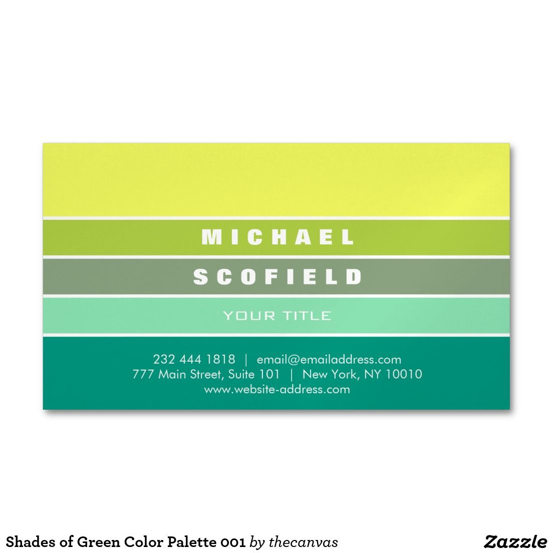 Shades of green color palette 001 business card magnet pinterest shades of green color palette 001 business card magnet reheart Gallery