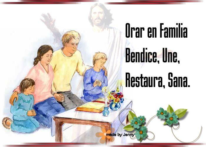 Imagenes de familia orando - | Oración por la familia, Familia ...