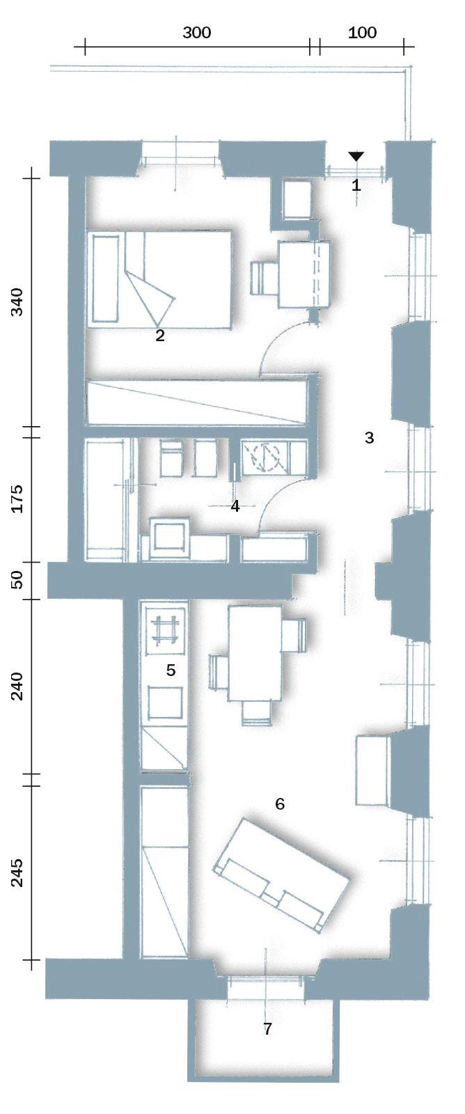 In 40 mq cambiano le prospettive - Cose di Casa   Case ...