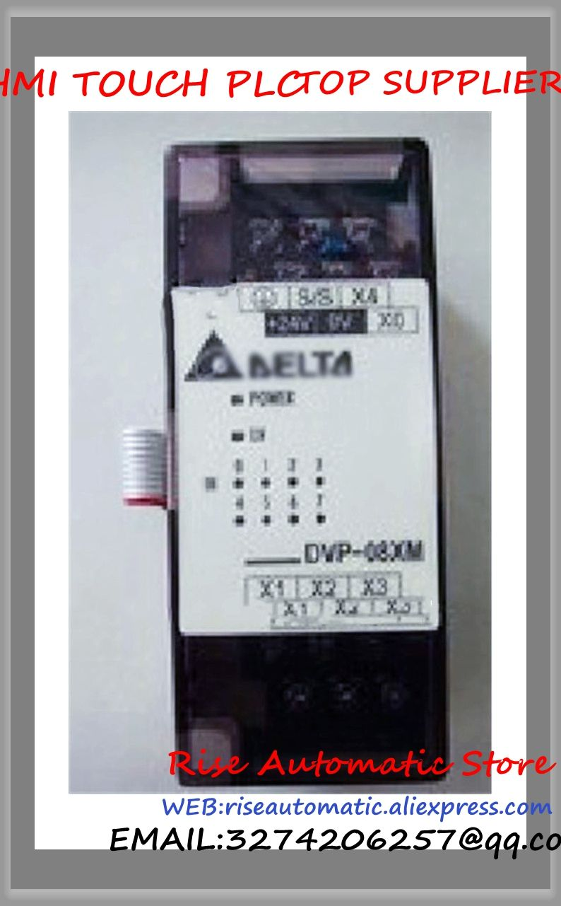 DVP08XM11N Delta PLC 8DI Digital Module New Original