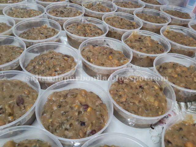 Bubur Asyura Resep Makanan Anjing Makanan Makanan Dan Minuman