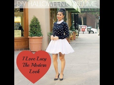 quick diy halloween costume idea i love lucy ricardo - I Love Lucy Halloween Costumes