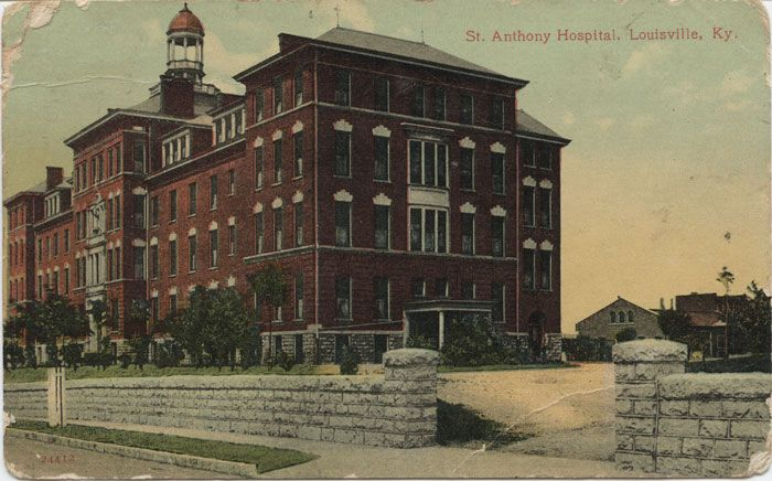 St Anthony Hospital Where I Was Born Became Kindred Louisville Kentucky Old Pictures St Anthony Hospital
