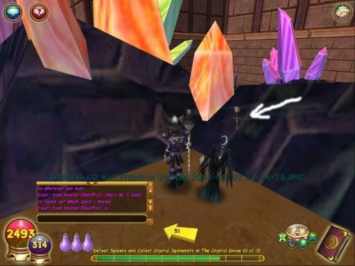 Guide to Finding The Stone Rose in the Crystal Grove - Wizard101