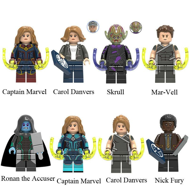 Skrull Mini figure Captain Marvel