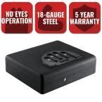 MicroVault Extra-Large Personal Security Handgun Safe, Black