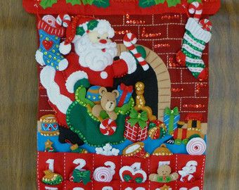 felt advent calendar – Etsy