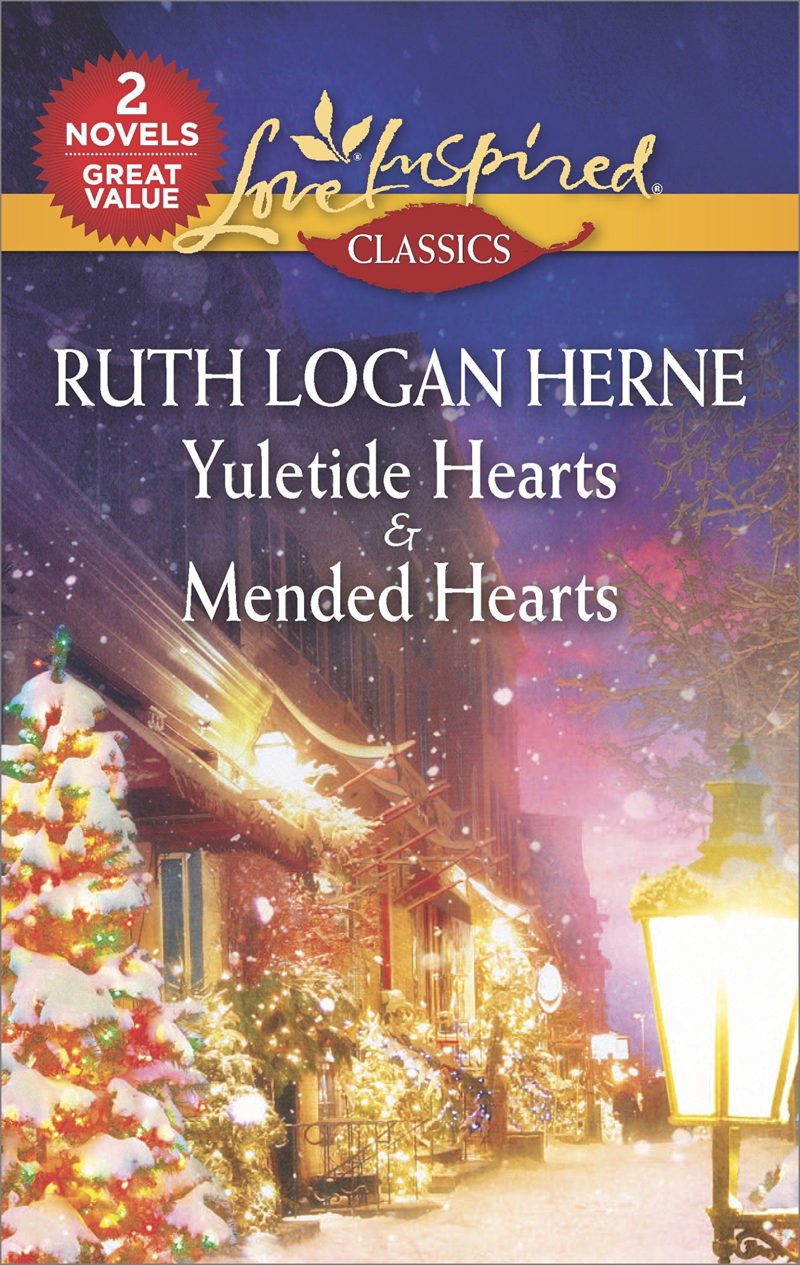 Image result for yuletide hearts and mended hearts by ruth logan herne