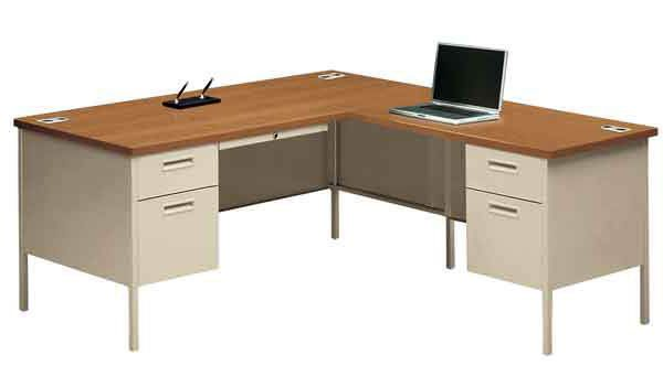 Metro Classic Series Left Desk W Right Return By Hon P3266l P3235r 83078 Products In 2019 Desk Office Furniture L Shaped Desk