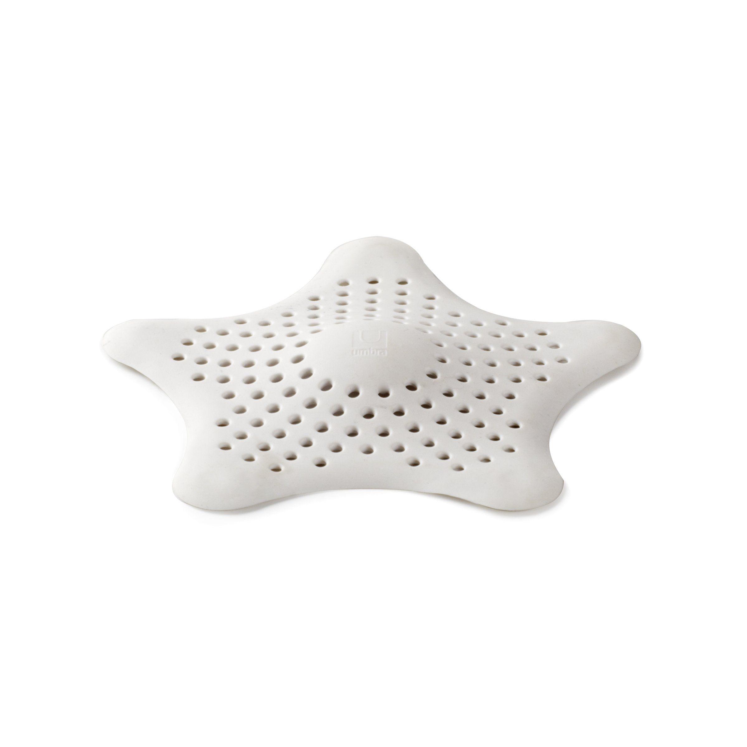 Amazon Com Umbra Starfish Drain Cover Hair Catcher White