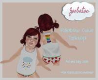 Zoobatos - Rainbow Cutie Tank Top