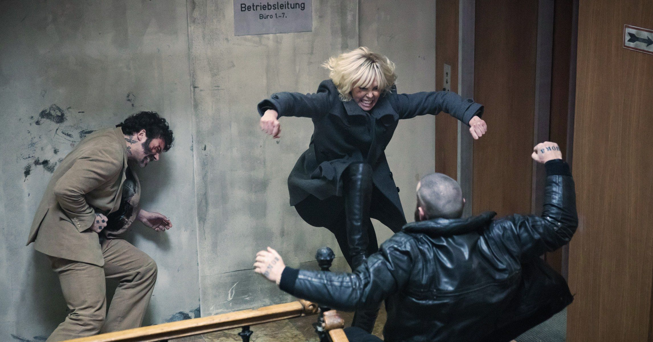 How They Pulled Off 'Atomic Blonde''s Killer Action Sequence