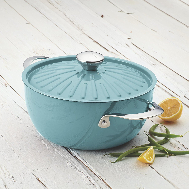 Amazon.com: Rachael Ray Cucina Hard Porcelain Enamel