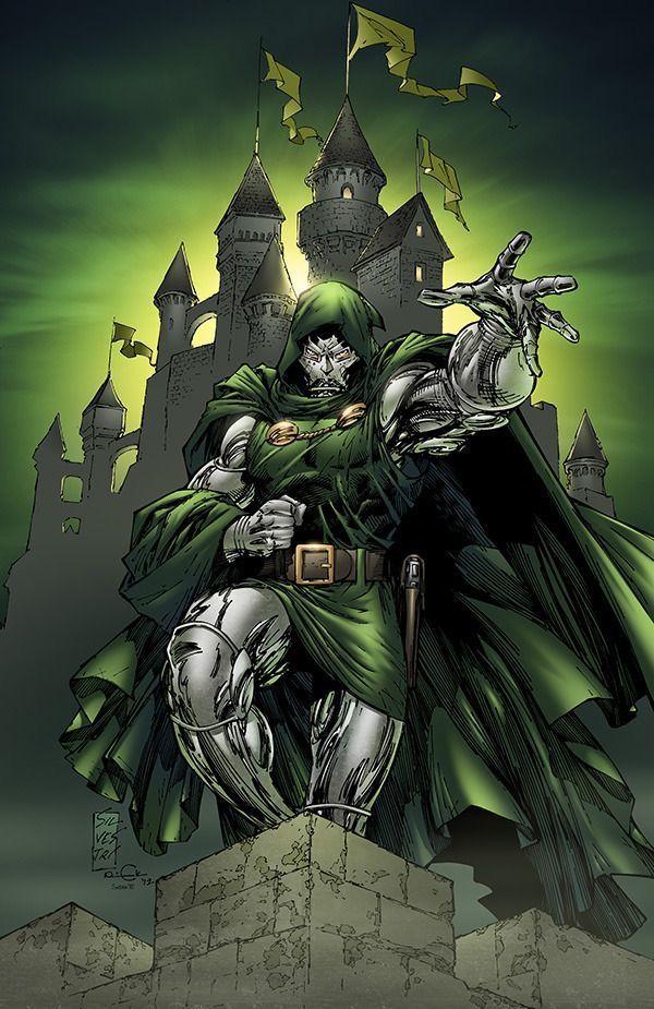 Doctor Doom By Marc Silvestri Marvel Comics Art Marvel Artwork Marvel Villains