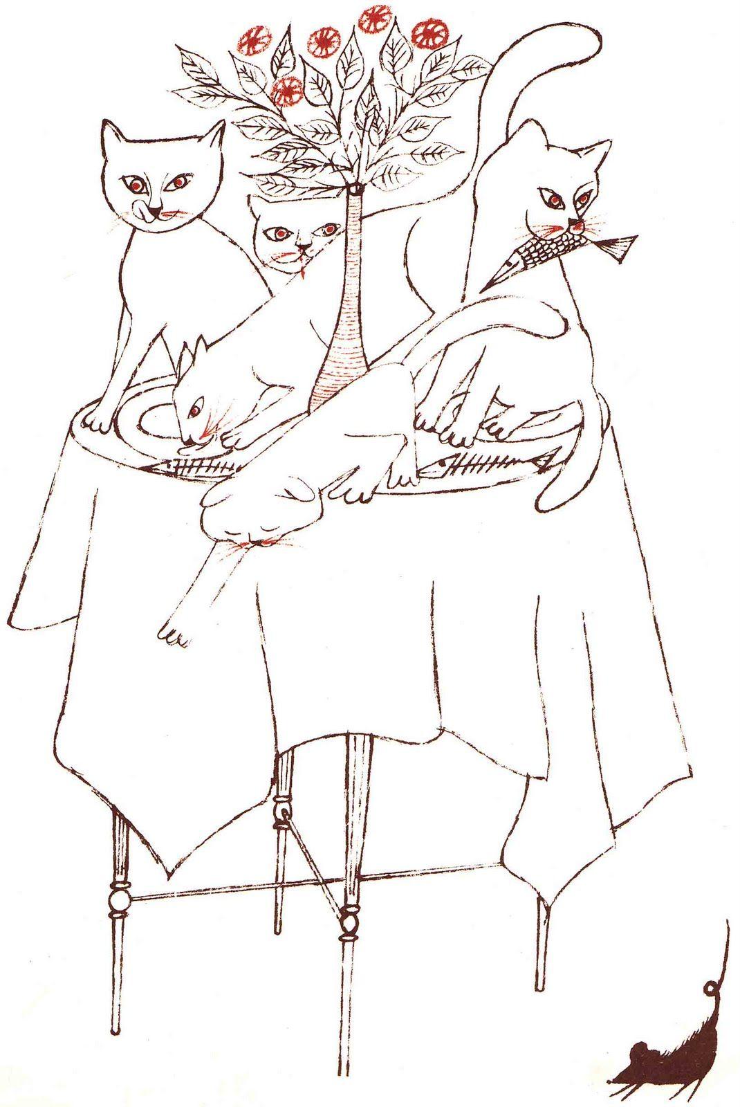 cats cats cats cats cats, beatrice schenk de regniers (illustrated