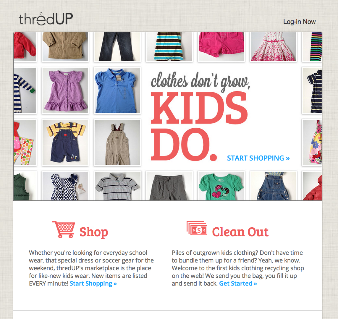 ThredUP Shuts Down Kids Clothes Swapping Service In Favor Of Online - Invoice software download free online thrift store clothes