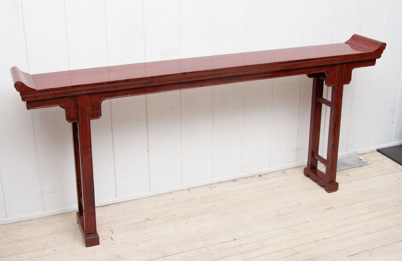 18th Century Chinese Altar Table From A Unique Collection Of