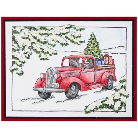 Truck of Gifts by Debi Hammons