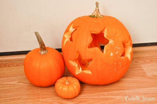 Pumpkin Carving With a Cookie Cutter