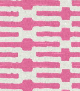 Home Decor Fabric Annie Selke Links Pink, , Hi Res