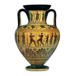 Anfora Antigo Vaso Grego Com Imagens Vasos Gregos Ceramica
