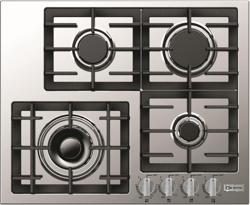 4 Burner Design Front Controls