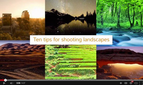 Better Landscape Photography Tips and Video Tutorials